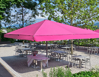 Merveilleux Rectangular Umbrellas
