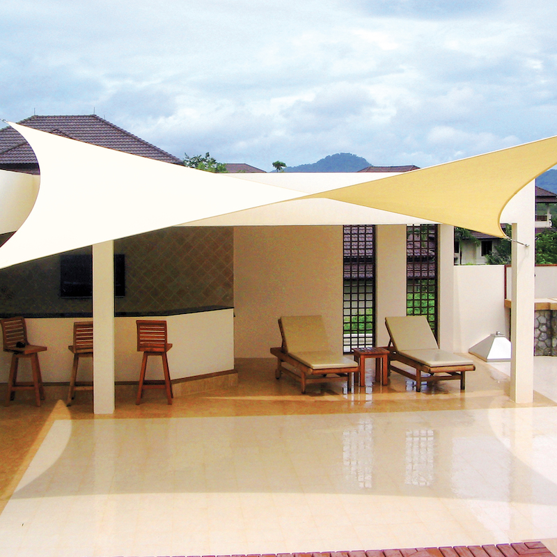 Shade Sails By Cool Off Perfect For Keeping Outdoor Venues Cool