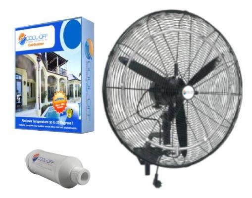 26 Cool Off Oscillating Misting Fan