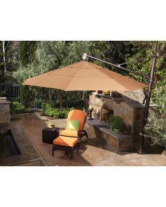Treasure Garden 13' Octagon Cantilever Umbrella