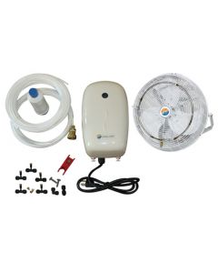 "18"" Misting Fan Kit - Mid Pressure"