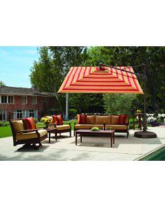 Treasure Garden 10' Square Cantilever Umbrella