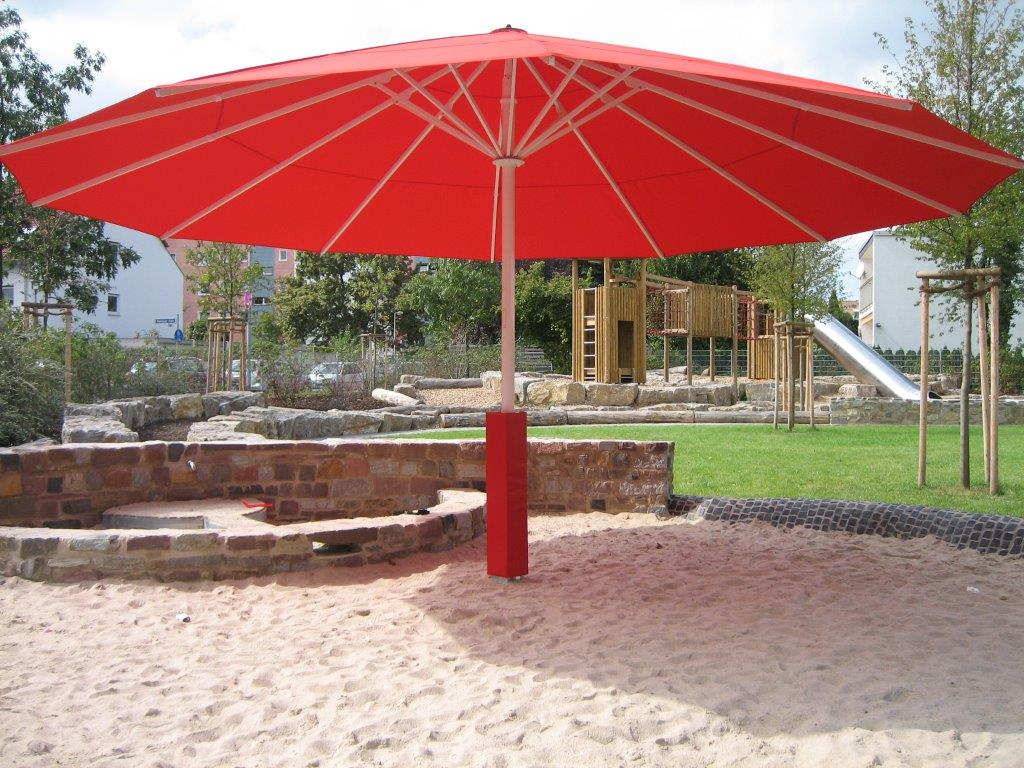 Patio Umbrellas & Misting Fans Make Any Weekenders Back Yard the Cool Spot in Town