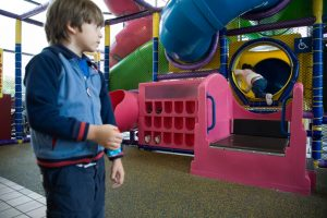 Common american indoors playground