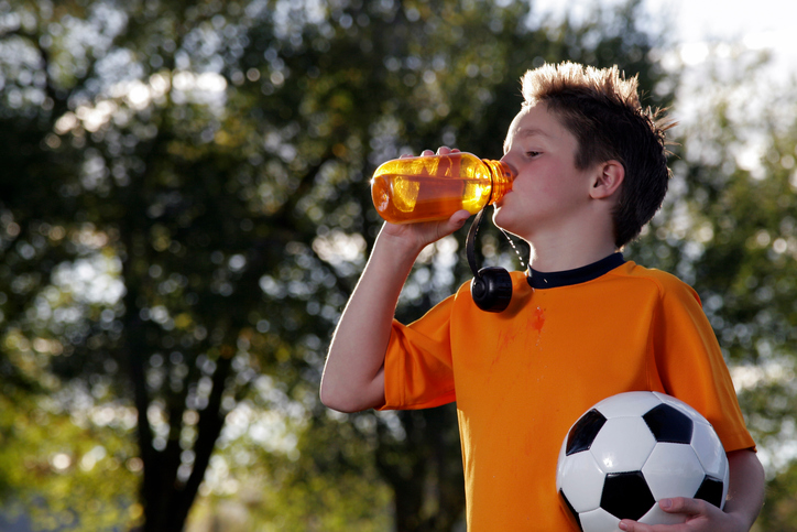 How to Promote Good Hydration during Children's Sporting Events