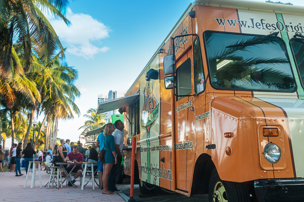 The Coolest Food Trucks have Misting Fans