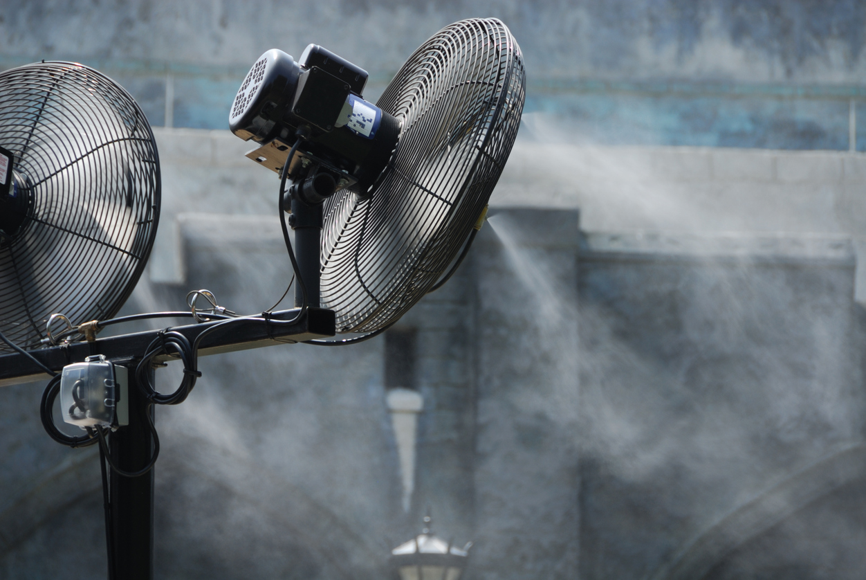 How to Turn Your Misting Fan into a Smart-Home Automatic Misting Fan